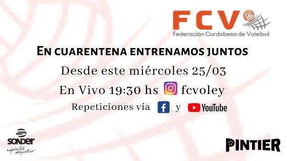 Transmisiones en Vivo vía Instagram fcvoley
